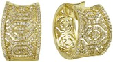 Effy Jewelry Moderna D'Oro Yellow Gold Diamond Earrings, .73 TCW