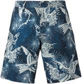 Polo Ralph Lauren bird print bermuda shorts - men - Polyester/Spandex/Elastane - 34