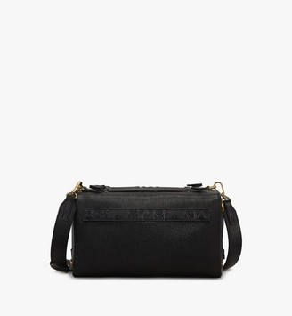 MCM Milano Boston Bag in Goatskin Leather