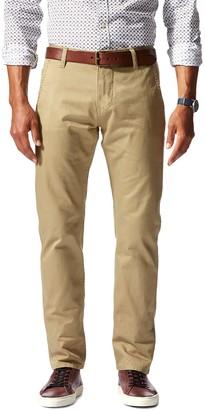 "Dockers Alpha Original Khaki Slim Fit Chinos - 30-34"" Inseam"