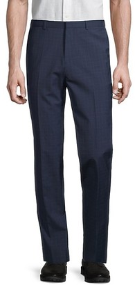 HUGO BOSS Hets Extra-Slim Wool Check Pants