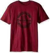 Brixton Men's Soto Short Sleeve Standard Fit T-Shirt