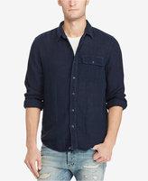 Denim & Supply Ralph Lauren Men's Garment-Dyed Cotton Shirt
