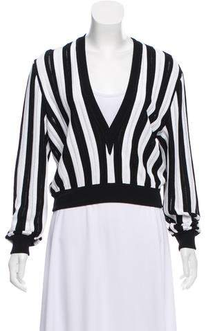 Givenchy Striped Knit Sweater