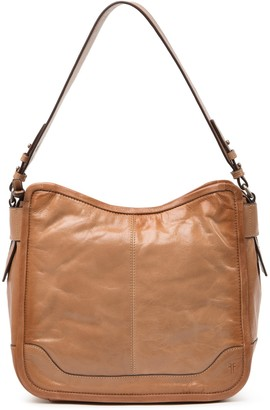 Frye Mel Leather Hobo Bag