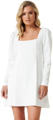 Forever New Serenity Long Sleeve Mini Dress