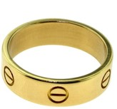 Cartier 18K Yellow Gold Love Ring Size 9
