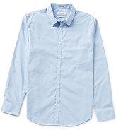 Calvin Klein Slim-Fit Block Check Long-Sleeve Woven Shirt