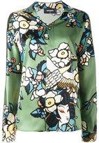 DSQUARED2 'Cherry Blossom' print shirt