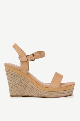Ardene Jute Wedge Sandals