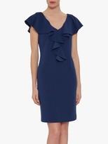 Gina Bacconi Marieta Stretch Crepe Dress