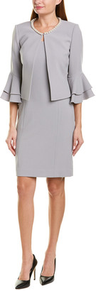 Tahari by Arthur S. Levine Tahari Asl 2Pc Jacket & Dress Set