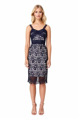 Paper Dolls Women's Lace Midi Dress