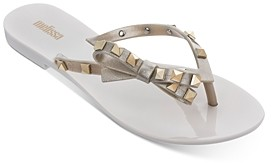 Melissa Women's Harmonic Studded Thong Sandals