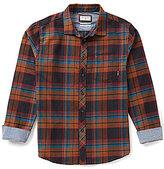 Billabong Coastline Flannel Plaid Long-Sleeve Shirt