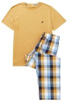 F&F Checked Bottoms Loungewear Set, Men's