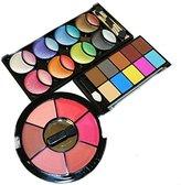44 Pearl Eyeshadow & Blush Colors Makeup Kit Palette