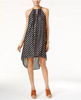 MICHAEL Michael Kors Printed High-Low Dress