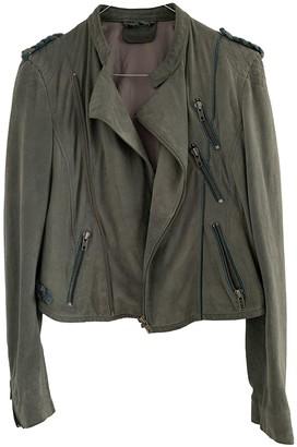 Zadig & Voltaire Grey Suede Jackets