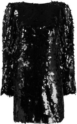 NERVI Scale-Effect Mini Dress