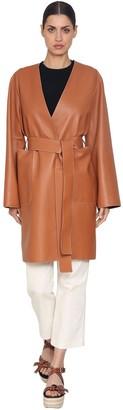 Loewe Wrap Nappa Leather Coat
