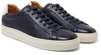 HUGO BOSS Mirage Full-Grain Leather Sneakers
