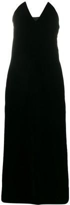 Yves Saint Laurent Pre-Owned 1996 Velvet Strapless Dress