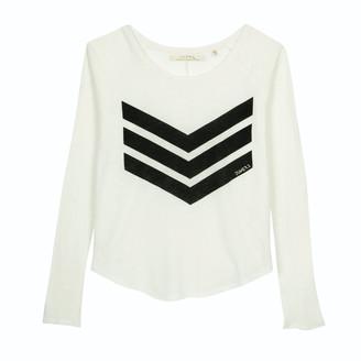 June 7.2 - Yann Brand Logo Tee - White & Black - cotton | white | xlarge - White/White