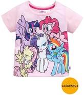 My Little Pony Girls Printed T-shirt
