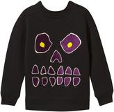 Molo Black Magne Skull Sweatshirt