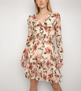 New Look Gini London Frill Shirred Waist Dress