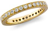 Pavé-Set Diamond Eternity Ring in 18k Gold (1/2 ct. tw.)