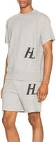 Helmut Lang Masc Crew Sweat Tee in Vapor Heather | FWRD
