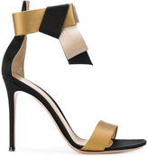 Gianvito Rossi bow strap sandals