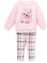 Kids Headquarters Light Pink Dog Tunic & Leggings - Infant & Girls