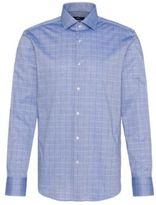 HUGO BOSS Italian Cotton Dress Shirt, Regular Fit Gordon 16 Blue