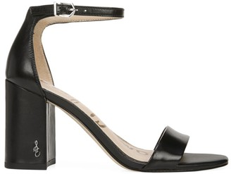 Sam Edelman Daniella Ankle-Strap Leather Sandals