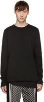 Sacai Black Panelled T-Shirt