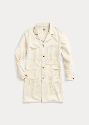 Ralph Lauren Distressed Shop Coat