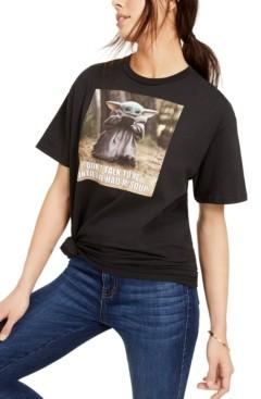Disney Juniors' Star Wars Baby Yoda Soup Graphic T-Shirt