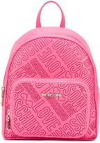 Love Moschino logo embossed backpack