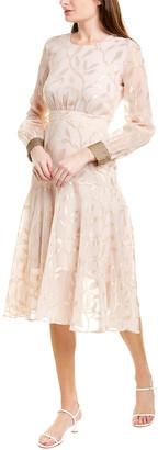 We Are Kindred Luella Leaf Midi Dress