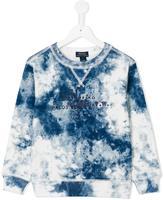 Ralph Lauren tie dye sweatshirt - kids - Cotton - 4 yrs