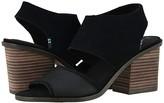 Toms Majorca Block (Black) Women's Shoes