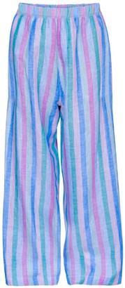 Pink & Blue Stripes Pyjama Trousers