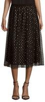 BCBGeneration Dot Printed Skirt