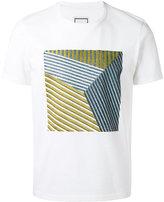 Wooyoungmi square pattern T-shirt - men - Cotton - 46