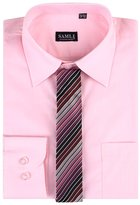SAMLI Aelstores. Boys Plain Long Sleeved Shirt Kids Ages Formal Smart Age Size 1-15