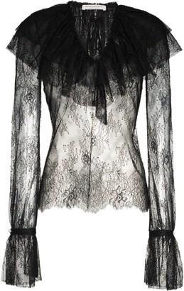 Philosophy di Lorenzo Serafini Lace Long Sleeve Blouse