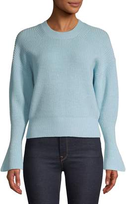 Joie Balloon-Sleeve Wool Sweater